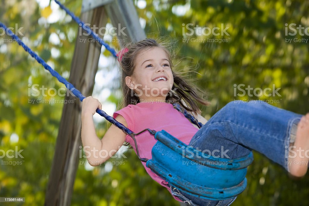 Carefree Childhood Days royalty-free stock photo