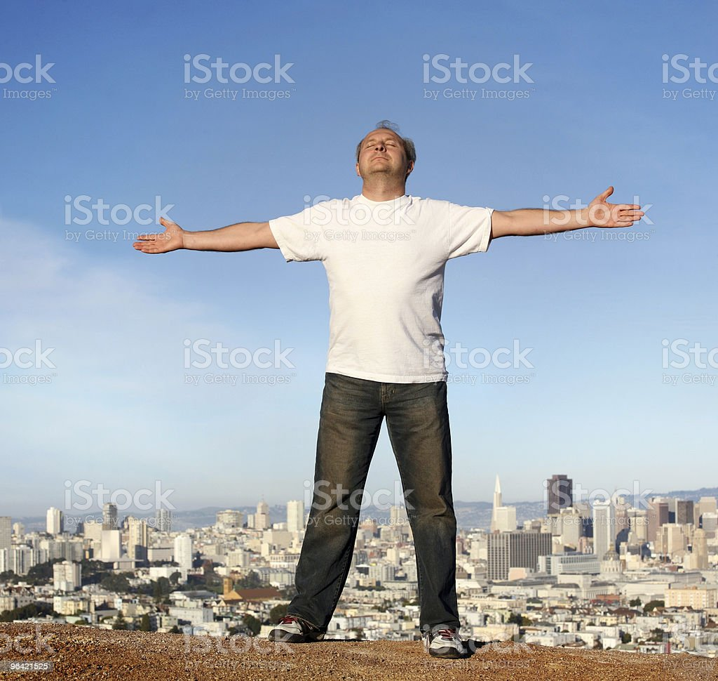 Carefree living royalty-free stock photo