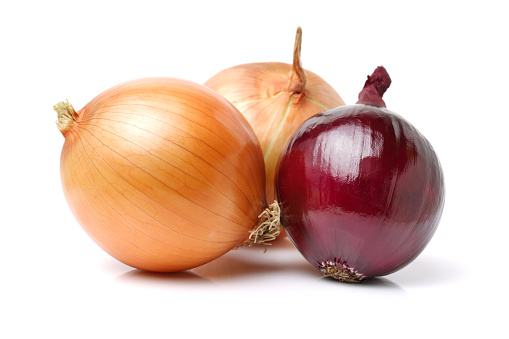 different types of carefully selected onions on a white background. It was tough to isolate properly while maintaining the natural shadow and nice organic colours.