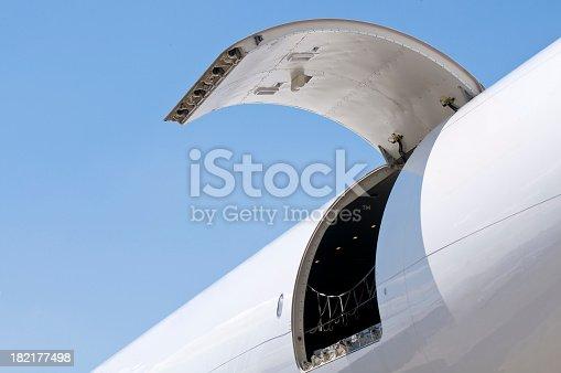 istock Cargo air transportation 182177498