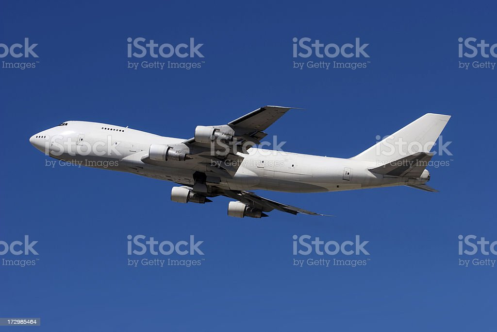 Cargo Airliner stock photo