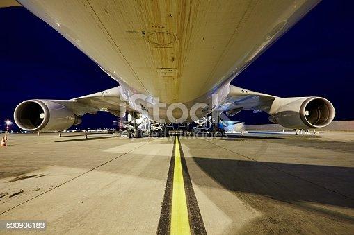 istock Cargo airplane 530906183