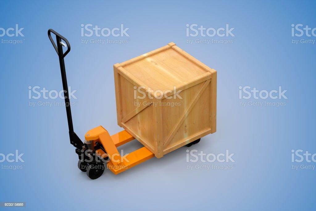 Cargo box stock photo