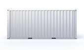 Cargo Container 3d-rendering