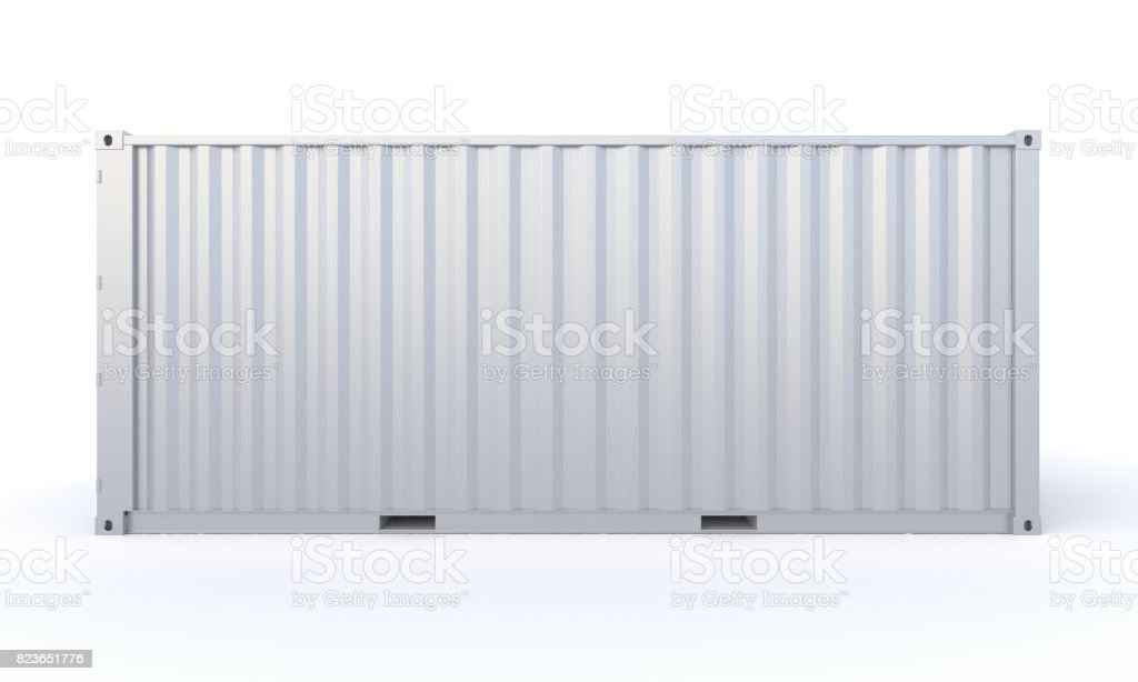 Cargo Container 3d-rendering stock photo