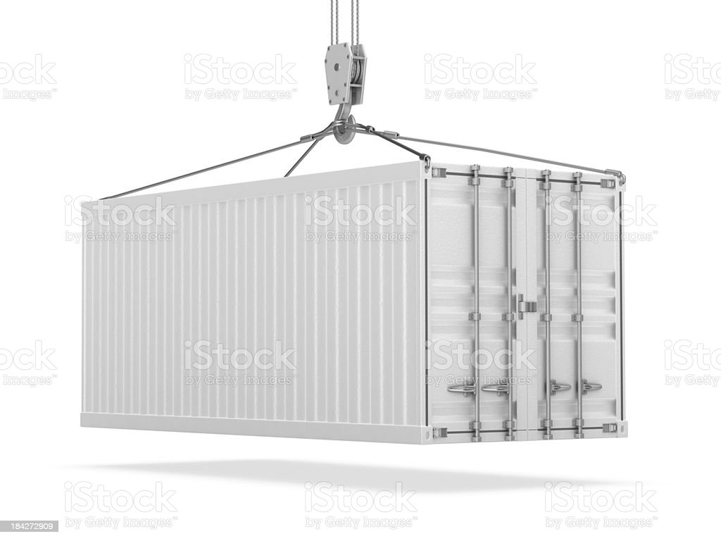 Cargo Container stock photo