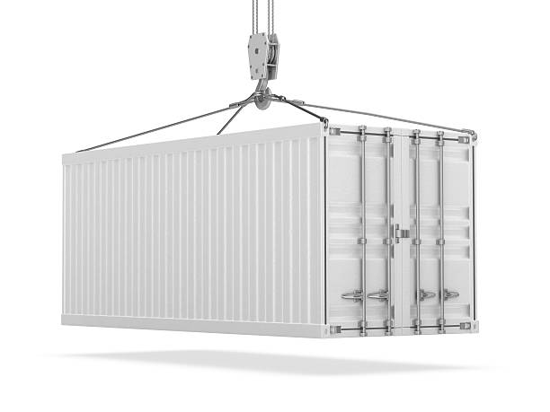 cargo container - container stock photos and pictures