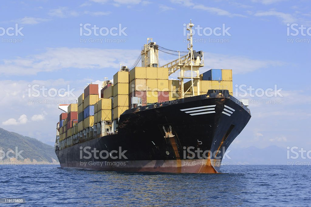 container ship – Foto