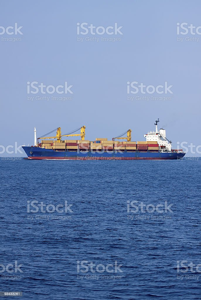 container ship Lizenzfreies stock-foto