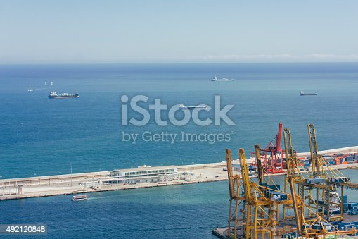 638310484 istock photo cargo containers, global cargo containers transportation business 492120848