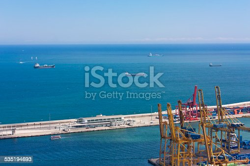 638310484 istock photo cargo containers, global cargo containers transportation business 535194693