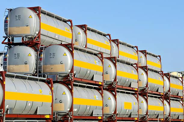 cargo container - foto stock