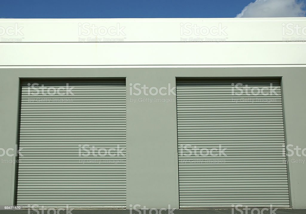 Cargo Doors royalty-free stock photo