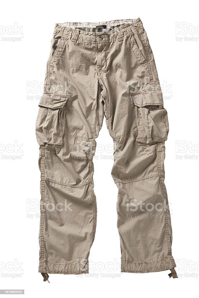 cargo pants stock photo