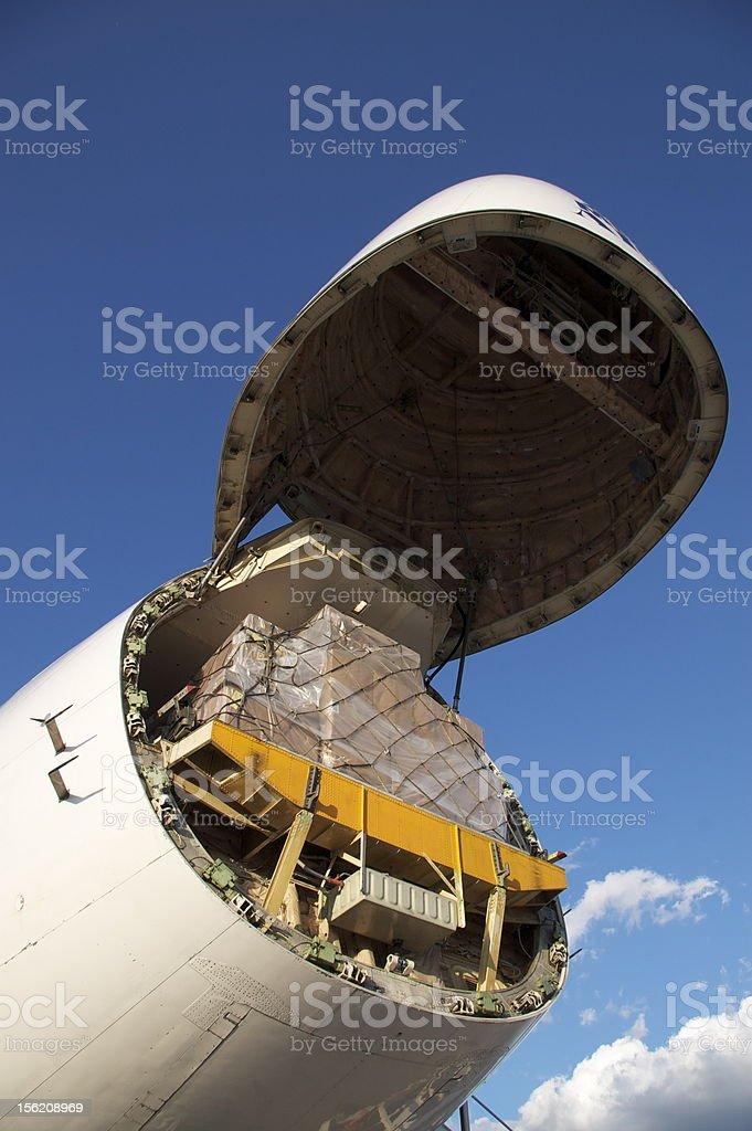 Cargo Plane stock photo