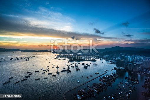 Asia, China - East Asia, East Asia, Hong Kong, Aerial View