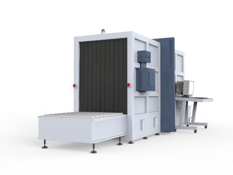 istock Cargo Screener Isolated 477999909