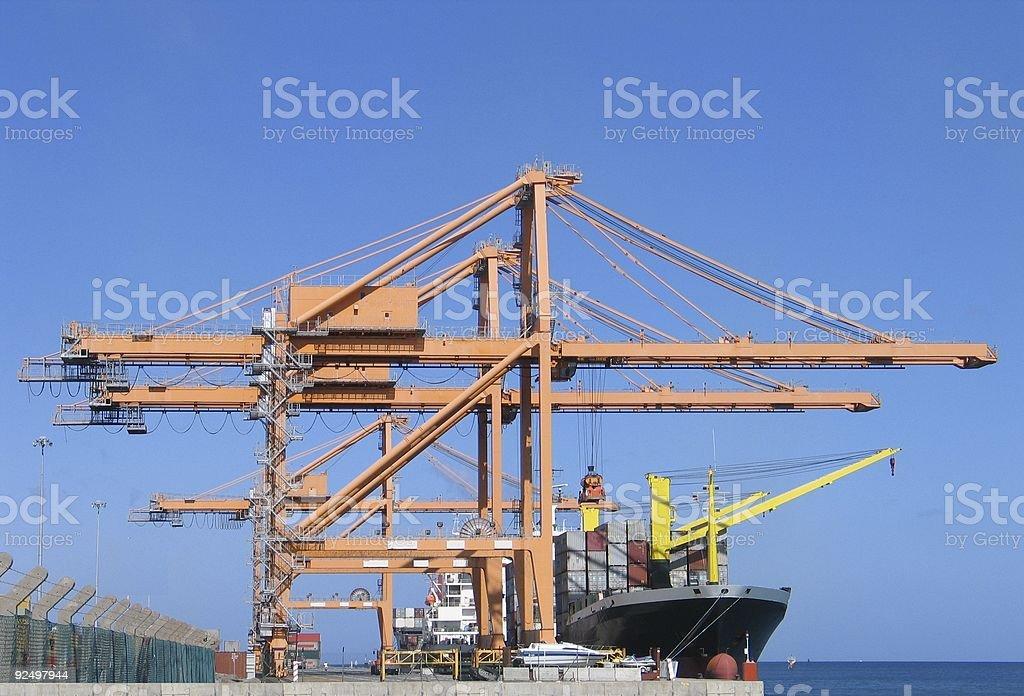 Cargo series 1 royalty-free stock photo
