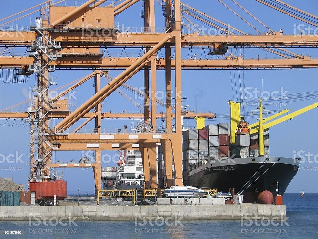 Cargo series 3 royalty-free stock photo