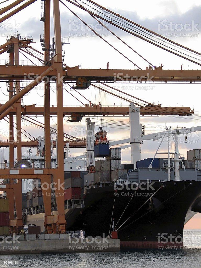 Cargo series 5 royalty-free stock photo