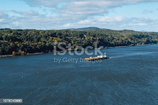 483418977istockphoto Cargo ship at the Hudson River 1078240990