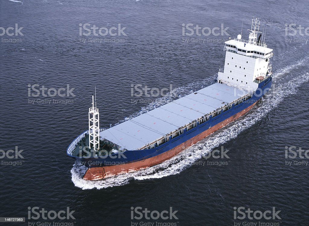 Cargo Ship royalty-free stock photo