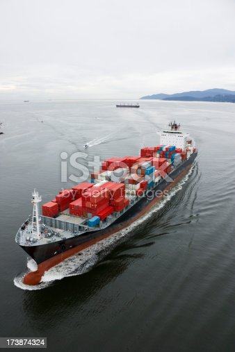istock Cargo Ship 173874324