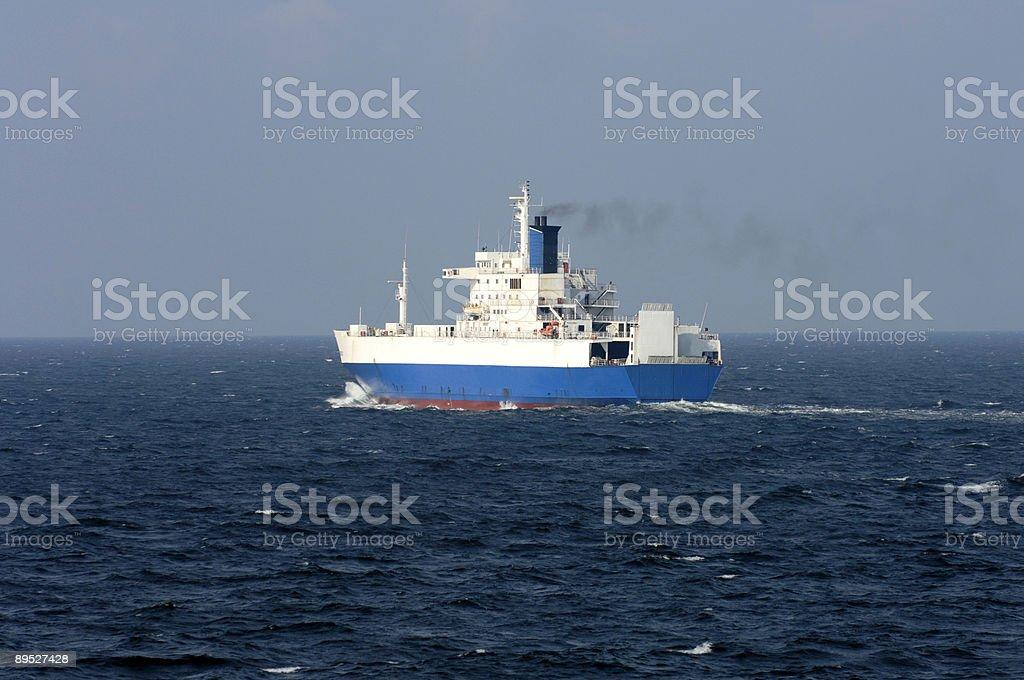 Cargo ship 免版稅 stock photo