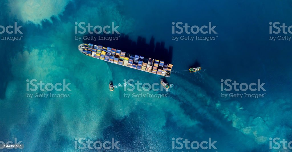 buque de carga - foto de stock