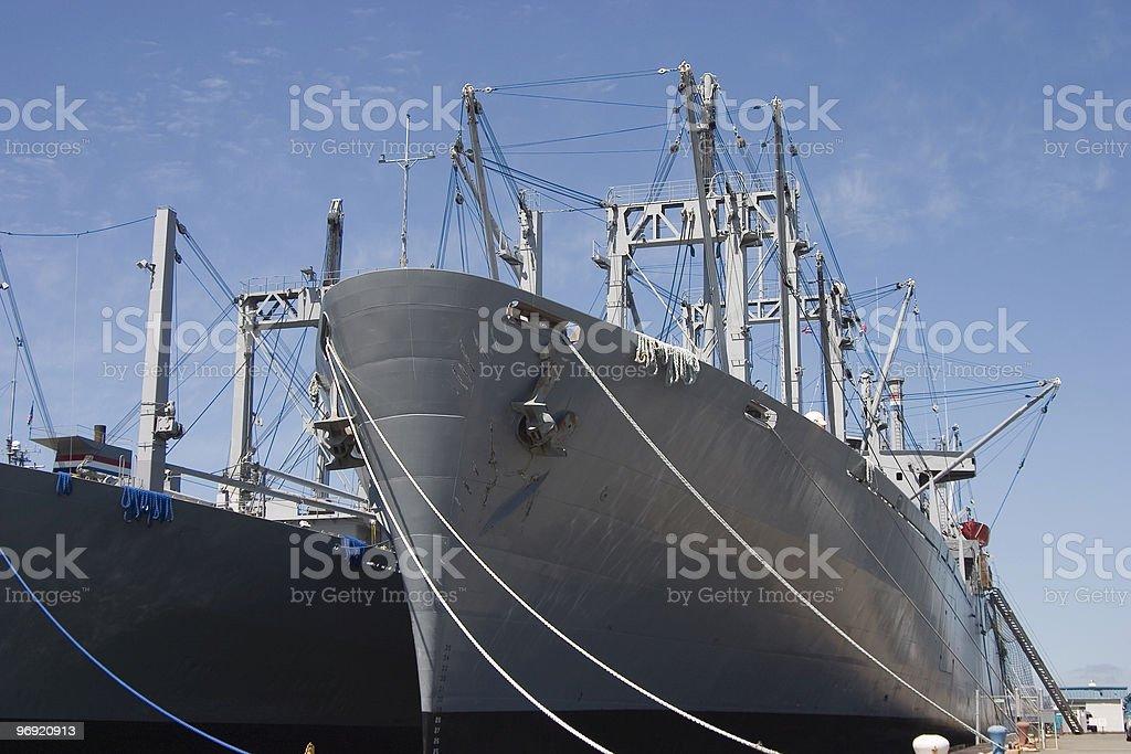 Cargo Ships 4 royalty-free stock photo