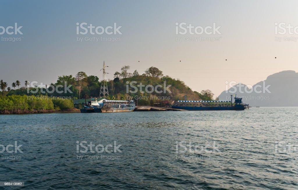 Cargo ships zbiór zdjęć royalty-free