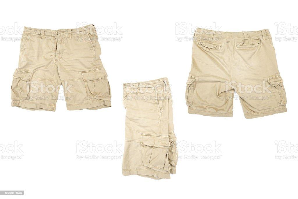 Cargo Shorts stock photo
