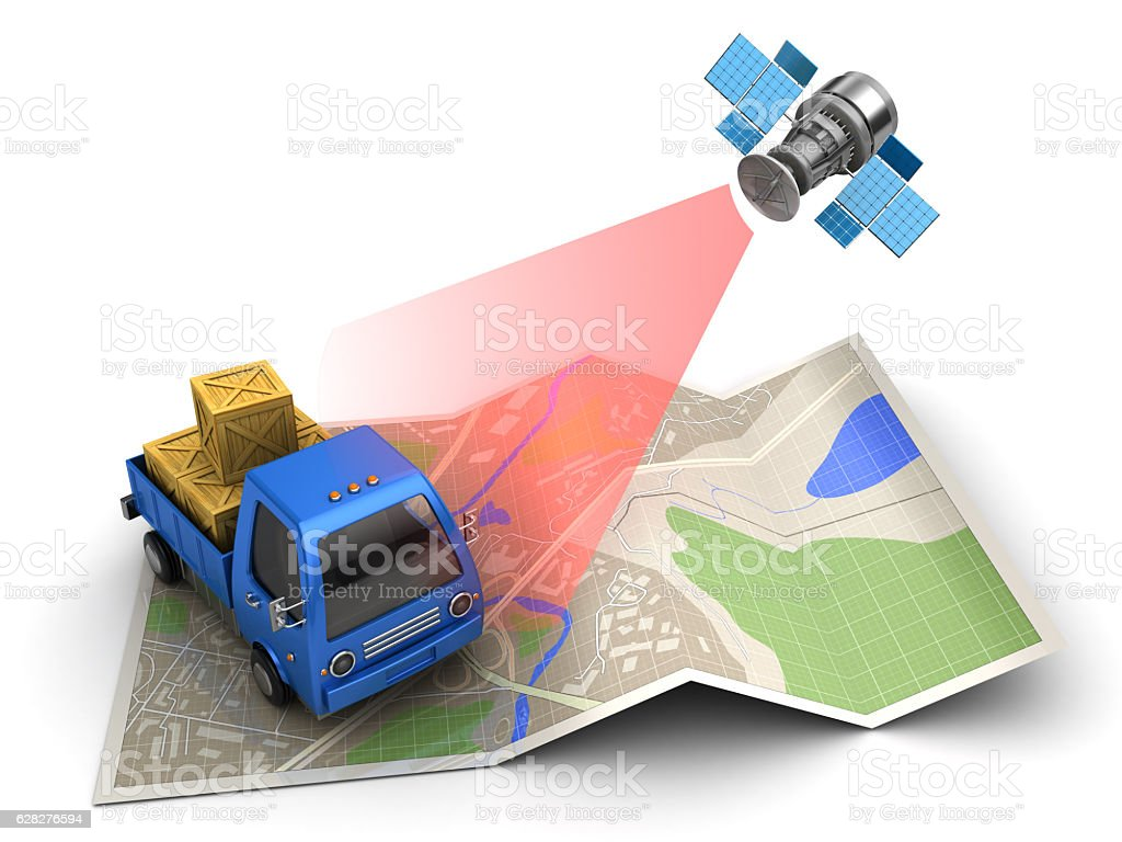 cargo tracking stock photo