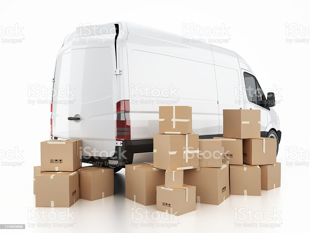 Cargo transport royalty-free stock photo
