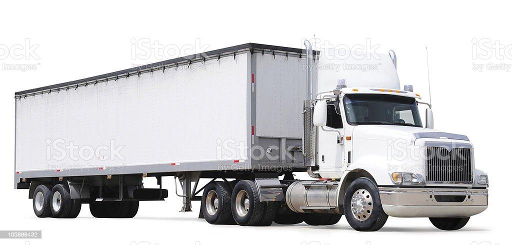 Cargo truck. stock photo