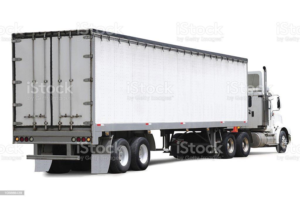 Cargo truck. royalty-free stock photo