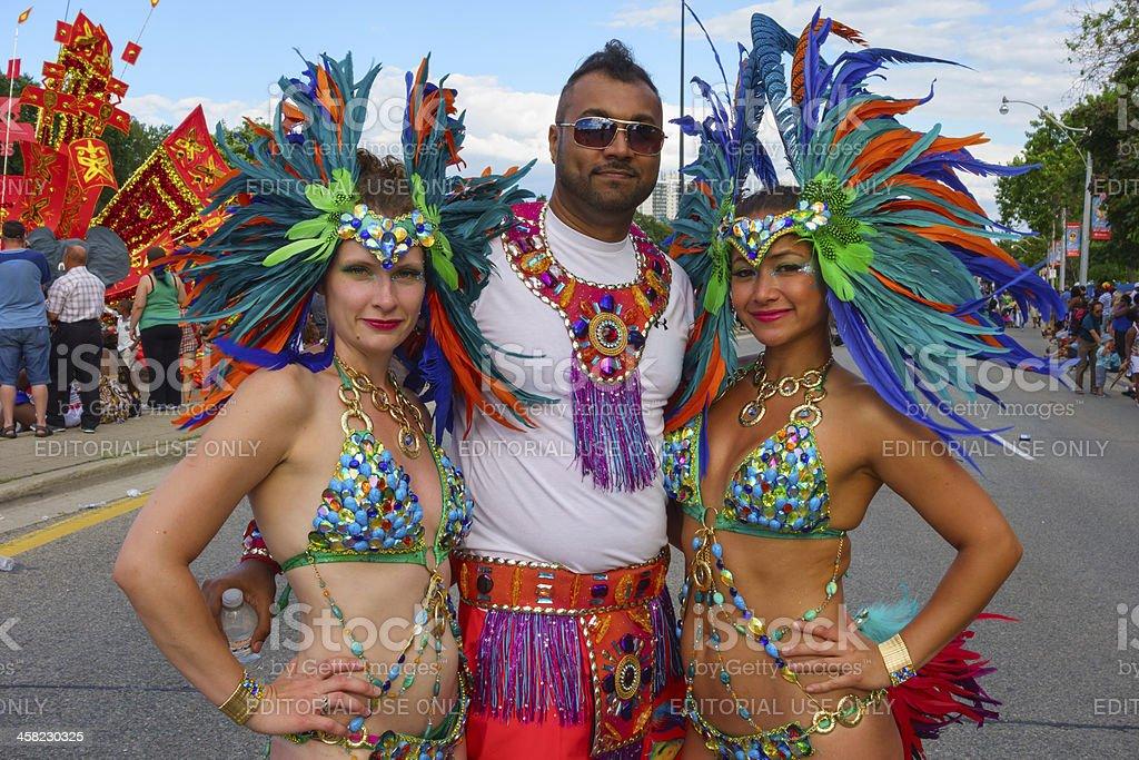 Caribana Carnival Parade, Festival, Toronto stock photo