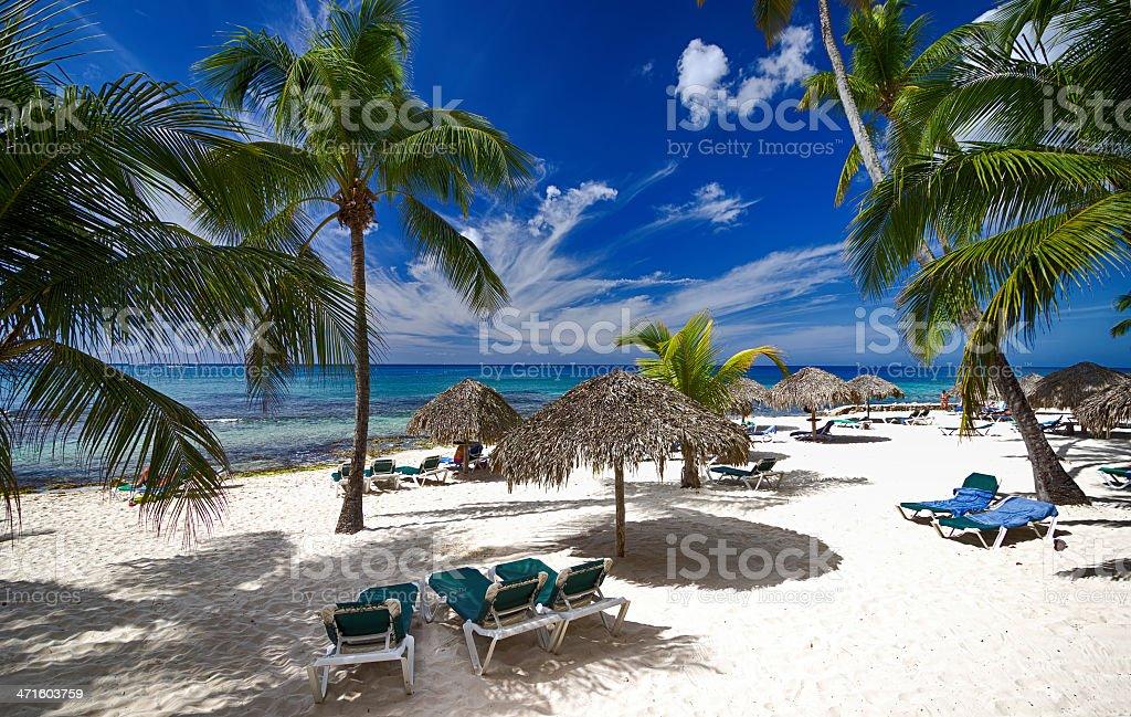 Playa Caribe - foto de stock