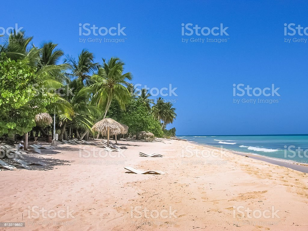 Canto de la Playa Caribbean stock photo