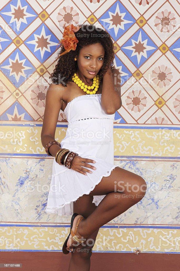 Caribbean Beauty stock photo