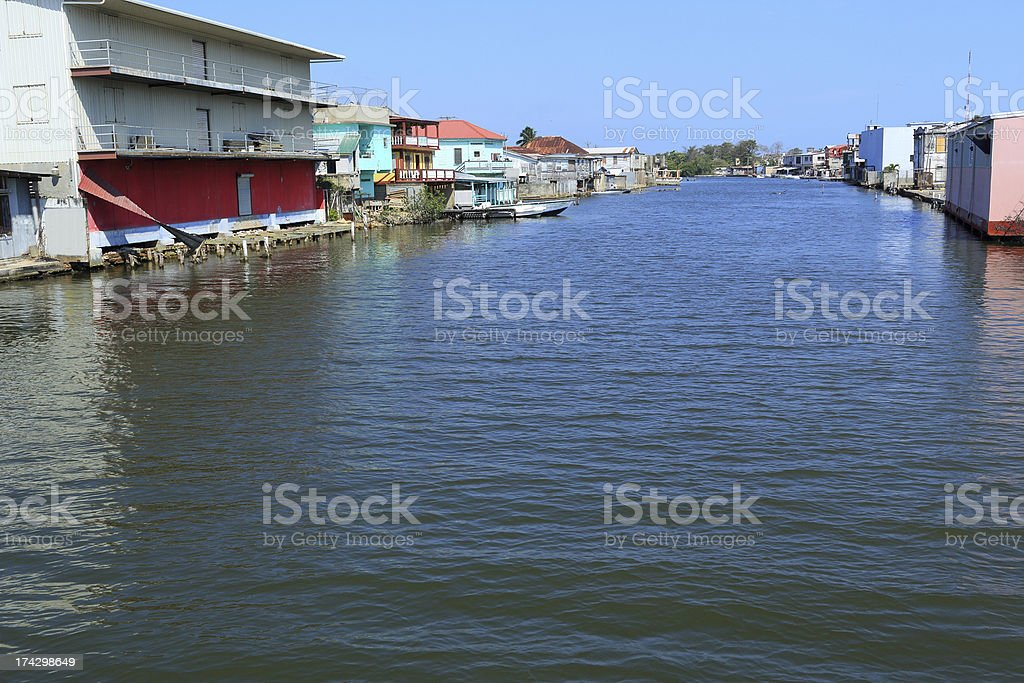 Caribbean: Belize royalty-free stock photo