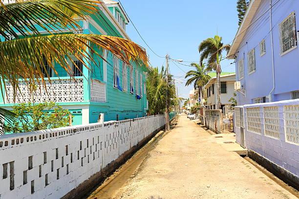 Caribbean: Belize stock photo