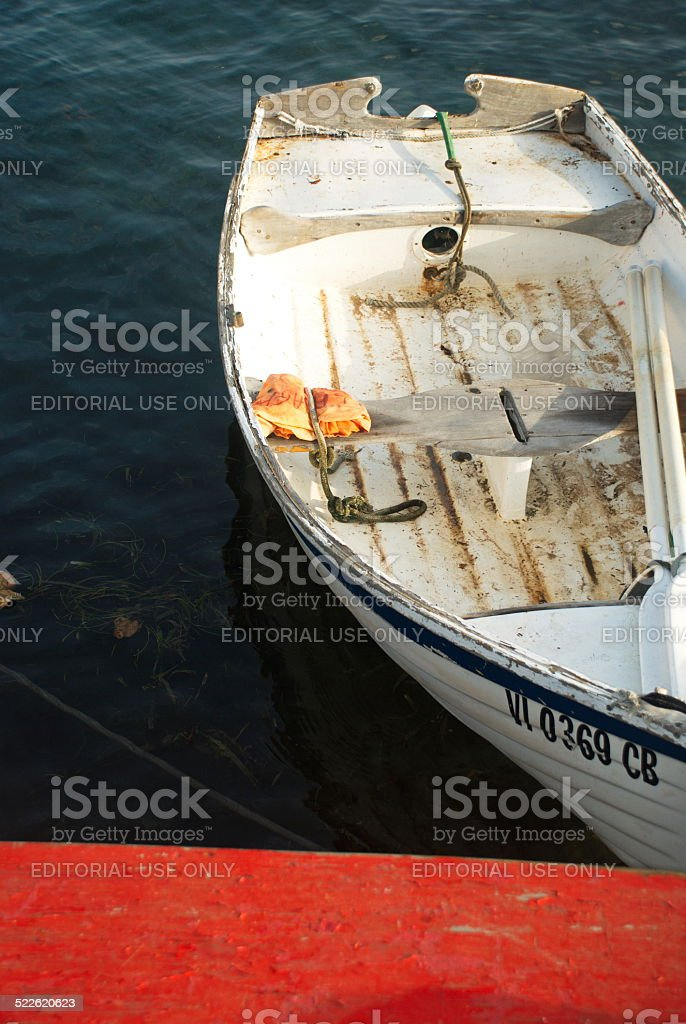 Caribbean Boat stock photo