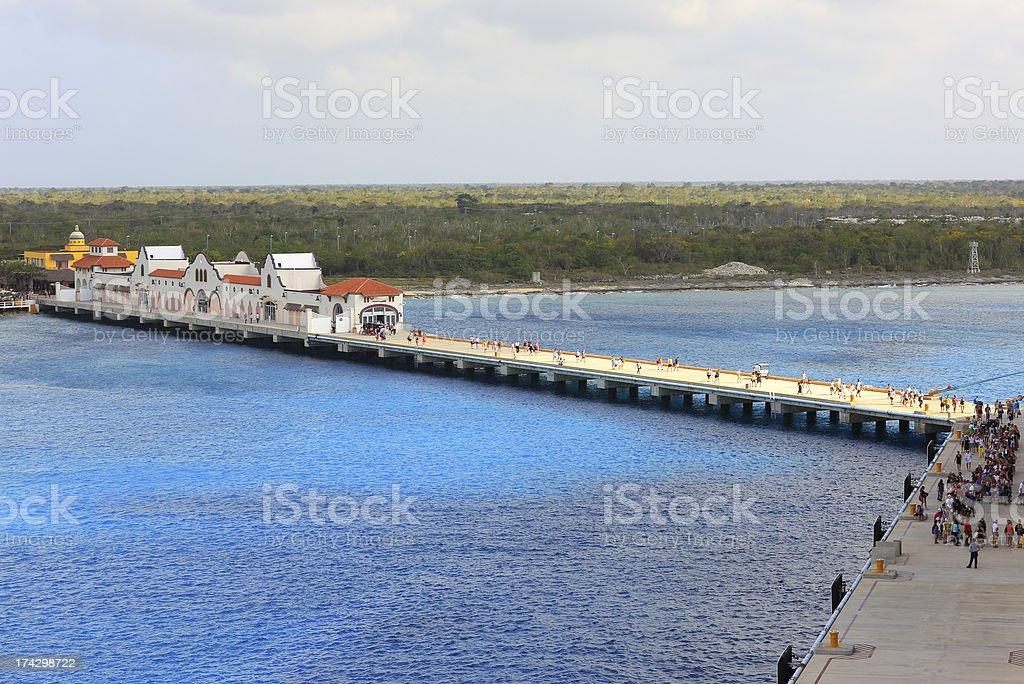 Caribbean: Cozumel, Mexico royalty-free stock photo