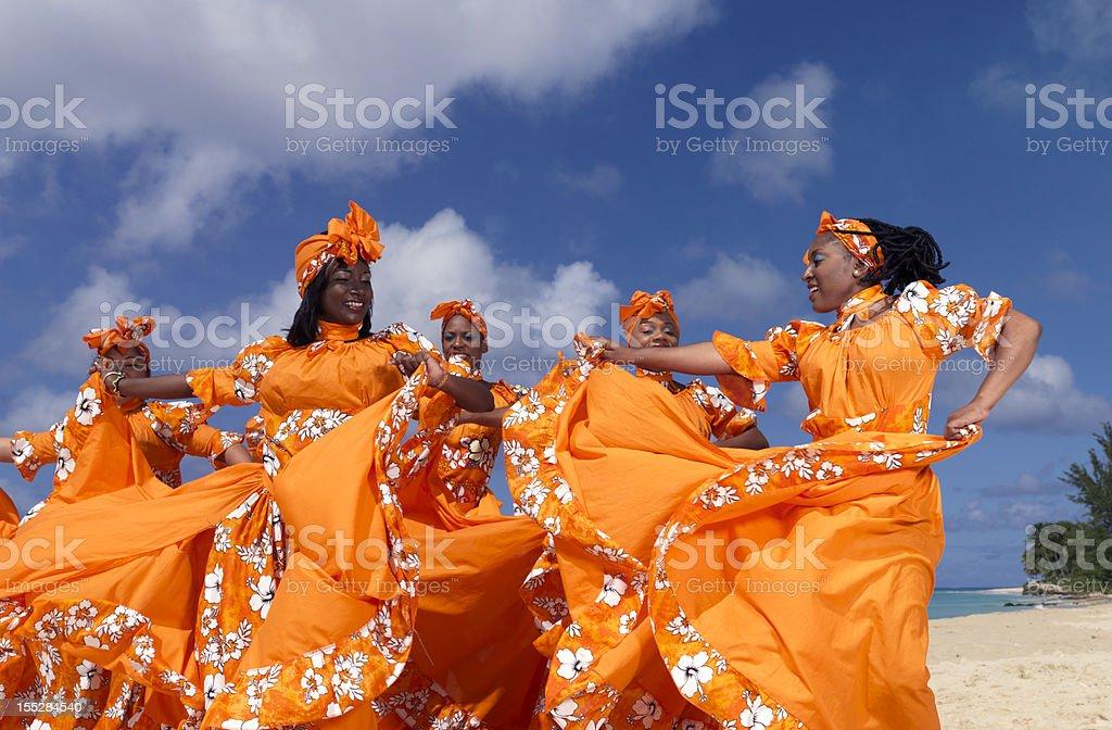 Caribbean Dancers stock photo