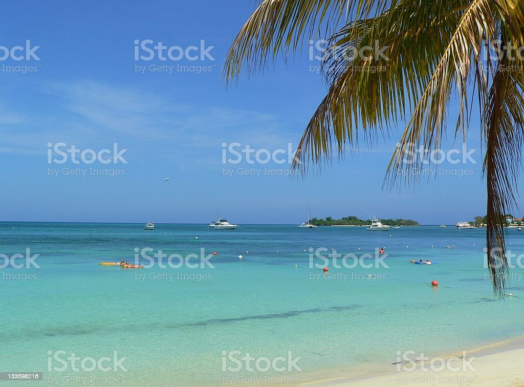 Caribbean Destination royalty-free stock photo