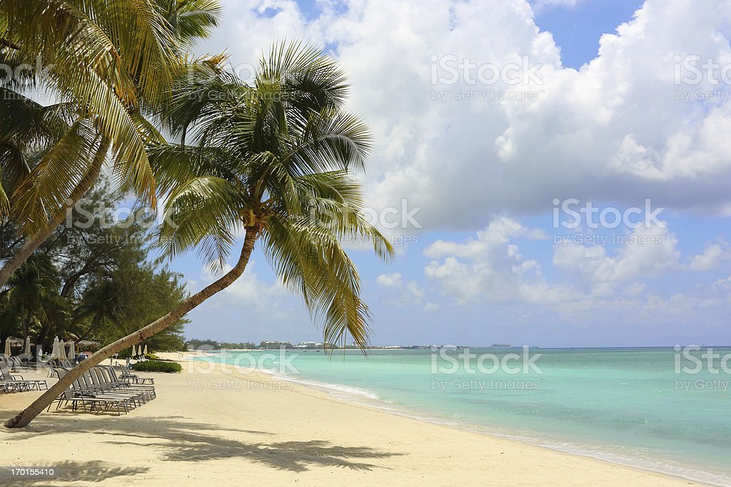 Caribe: Playa de ensueño - foto de stock