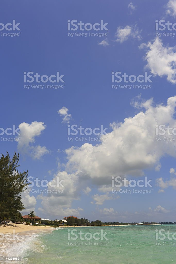 Caribbean: Dream Beach royalty-free stock photo
