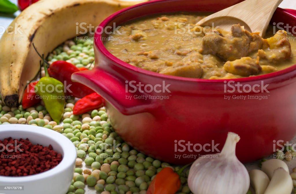 Comida del Caribe - foto de stock