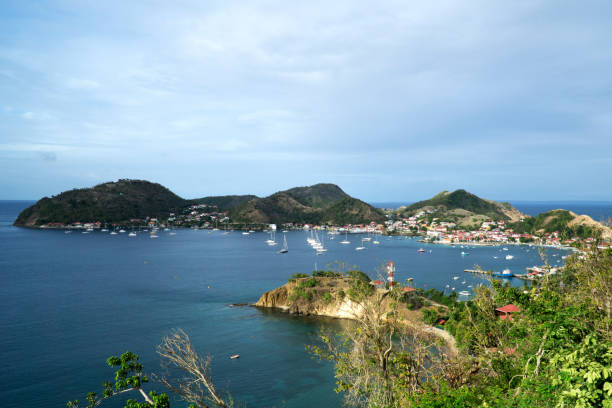 Caribbean, French West Indies, archipelago of Guadeloupe stock photo